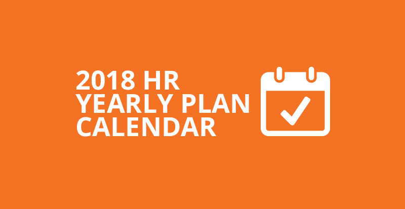 2018 free hr calendar