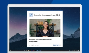 CEO video message