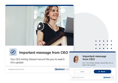 CEO video message hybrid working