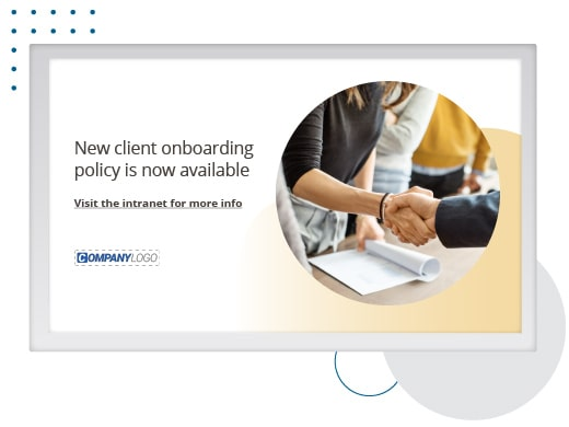 Client-onboarding-policy-screensaver