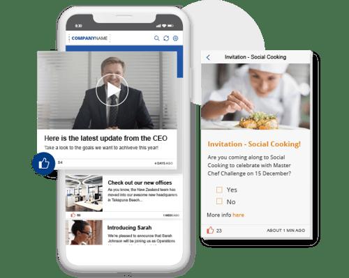 employee communication mobile app