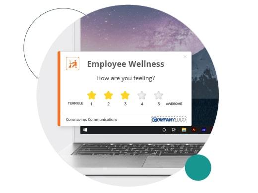 Employee sentiment star survey