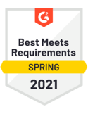 Best Meets Requirements Spring 2021