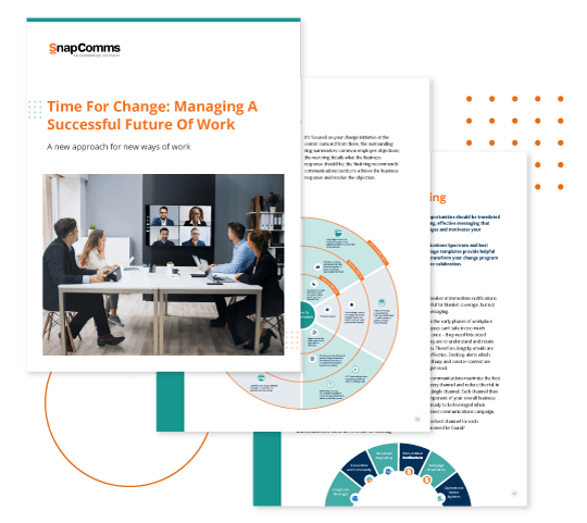 Managing a return to work guide
