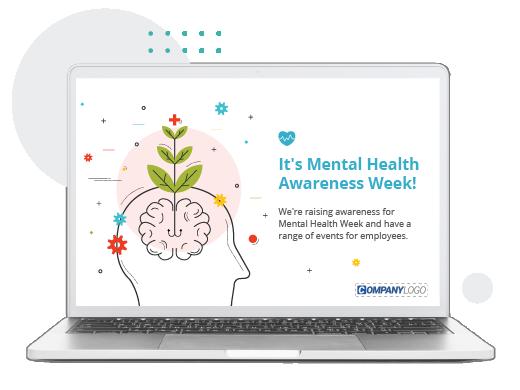 Mental health awareness week screensaver