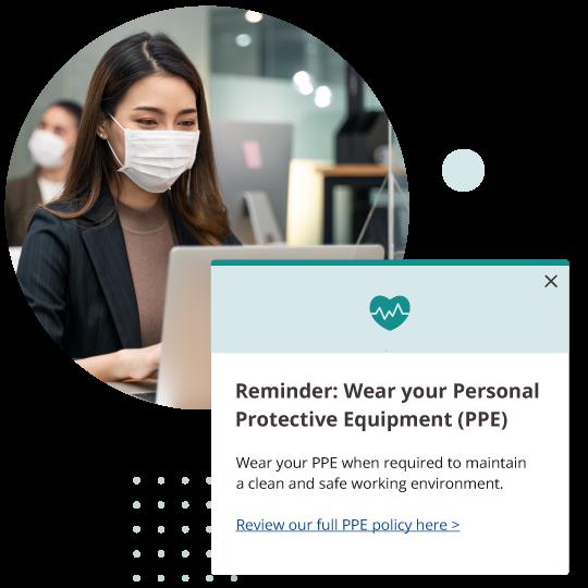 Reminder PPE Alert