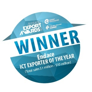 Endace ICT exporter of the year winner