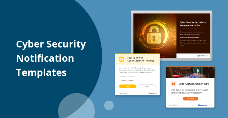 cyber security notification templates