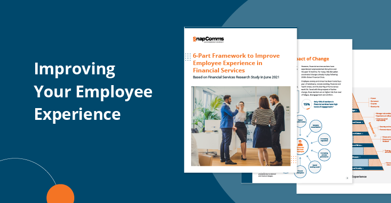 Improving your employee experience