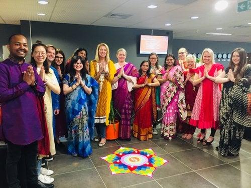 diwali staff celebration