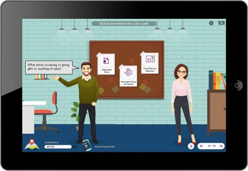 Gamification example for business