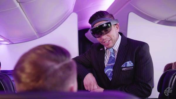 air new zealand virtual reality