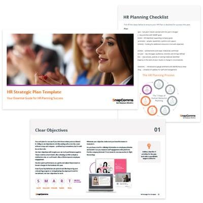 HR strategic plan templates