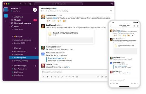 Slack collaboration tool