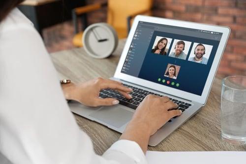 team collaboration online video