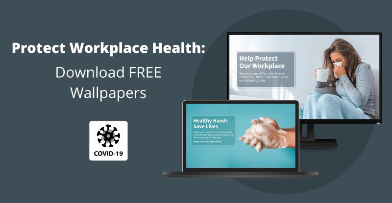 workplace health screensavers