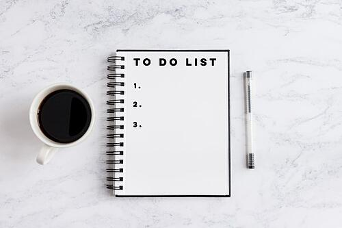 working priority to do list