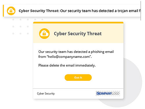 cyber attack corporate communications