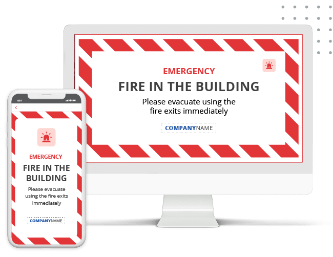 SnapComms emergency mass notification on mobile and PC
