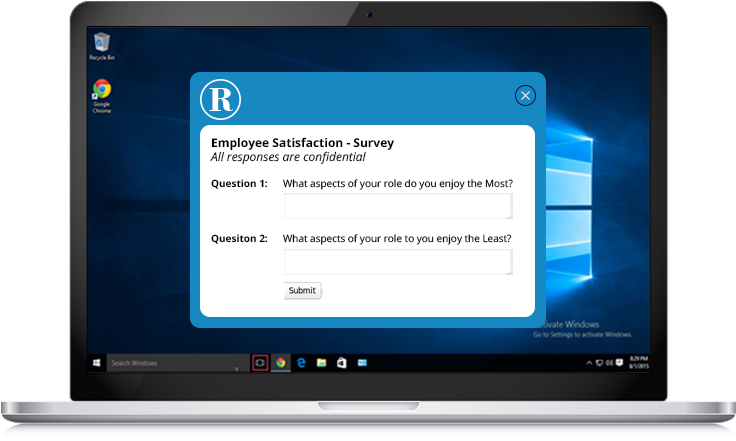 employee satisfaction survey example