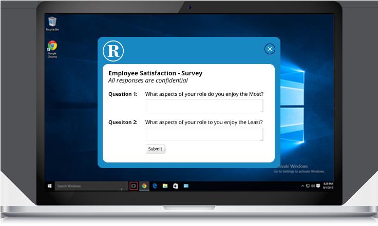 employee satisfaction survey example
