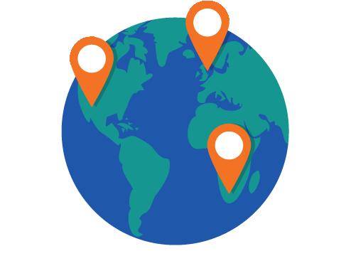 communicating across the world