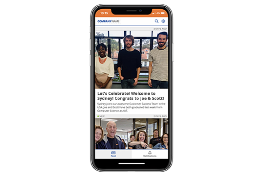 employee communication app