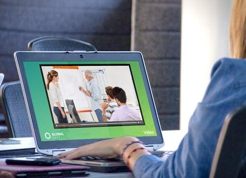 Workplace wellness video