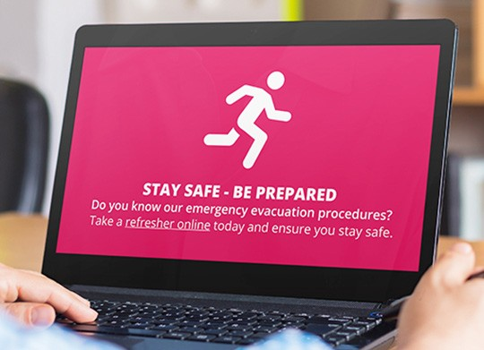 emergency procedure screensaver