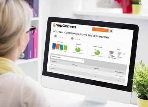 Data analytics internal communications report
