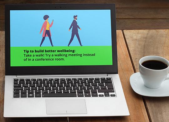 employee wellness tips wallpaper