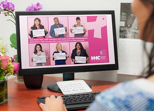 qhn mammogram screensaver