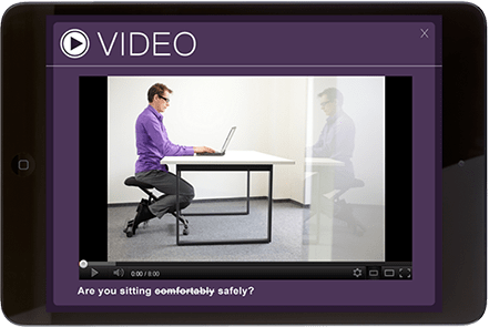 employee video communication on mobile devices