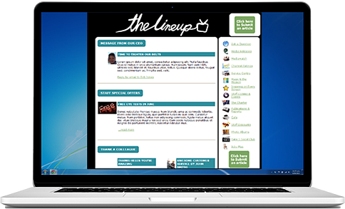 internal newsletter example 3png