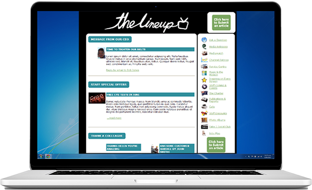 internal newsletter software snapcomms
