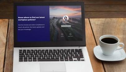 lockscreen example on laptop