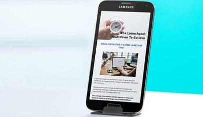 mobile newsletter