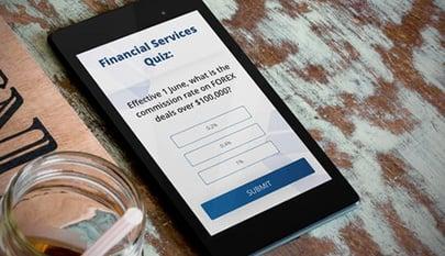 financial services quiz