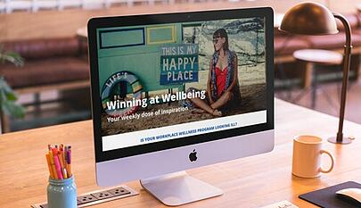 wellbeing newsletter on mac