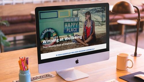 Workplace wellness newsletter