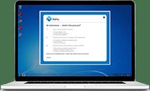 employee desktop quiz example