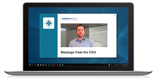 leadership communications video message