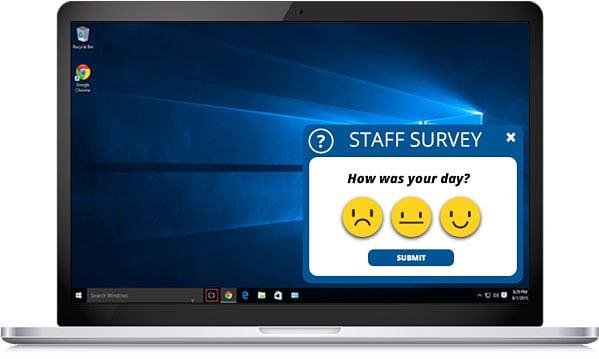 employee sentiment survey example