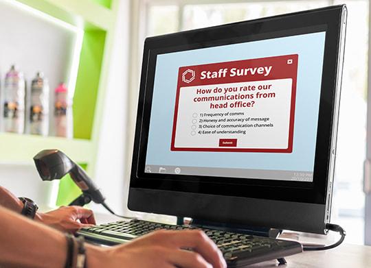 frontline staff survey