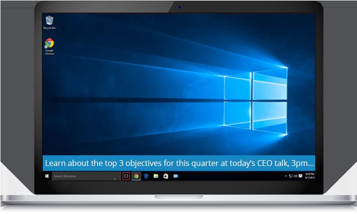 CEO Updates Ticker