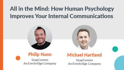 psychology of internal communications webinar