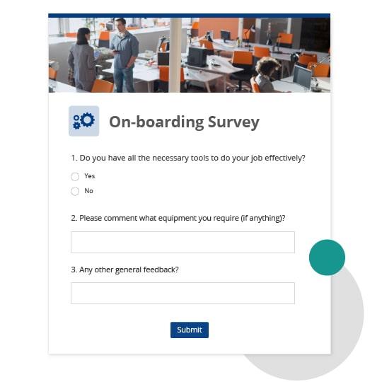 Employee onboarding survey