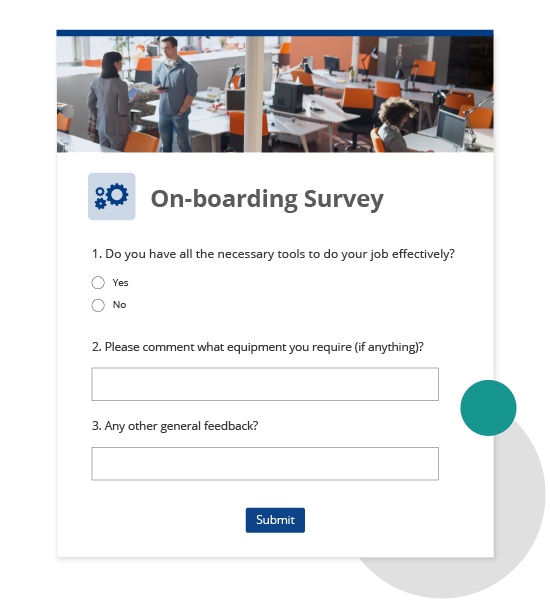 Employee onboarding survey