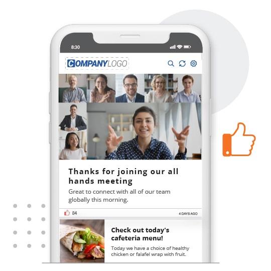 SnapComms-Employee-App-feed