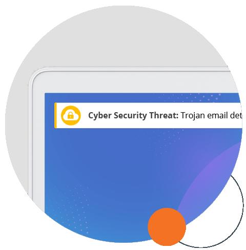 cyber security desktop ticker